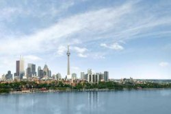 Click to see the Toronto Skyline as seen from Toronto Waterfront Condos location