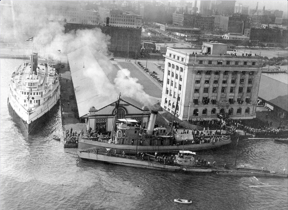 Photos From The Archives Showing Toronto Harbour