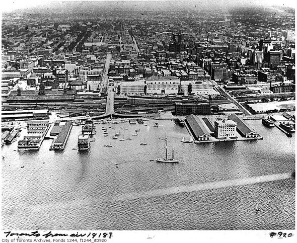 Harbor Commission building in the 1918?