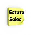 Estate Sales Properties emails of estate sales