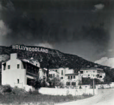 homes built in Hollywood for the Hollywoodland subdivision