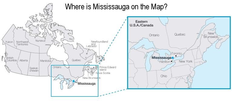 Mississauga (ON) Canada  City pictures : Where Is Mississauga Canada On The Map http://www.mississauga4sale.com ...