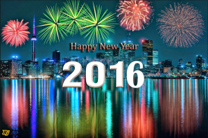 Happy New Year and all the best in 2016