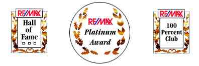 RE/MAX Hall of Fame, Platinum and 100 Percent Club Awards