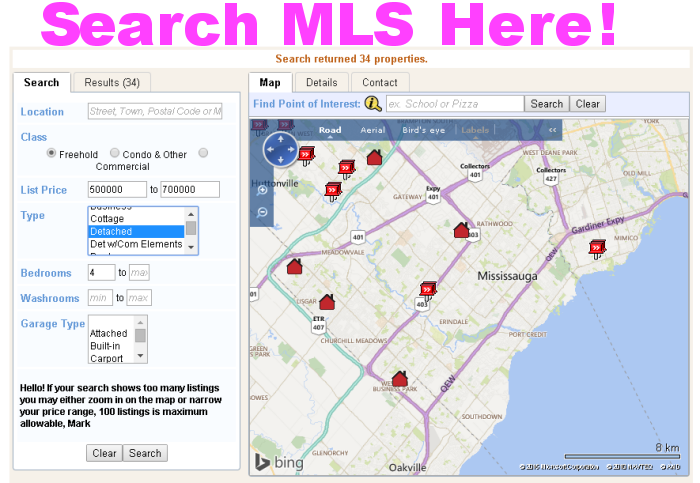 Search the MLS by clicking this image link